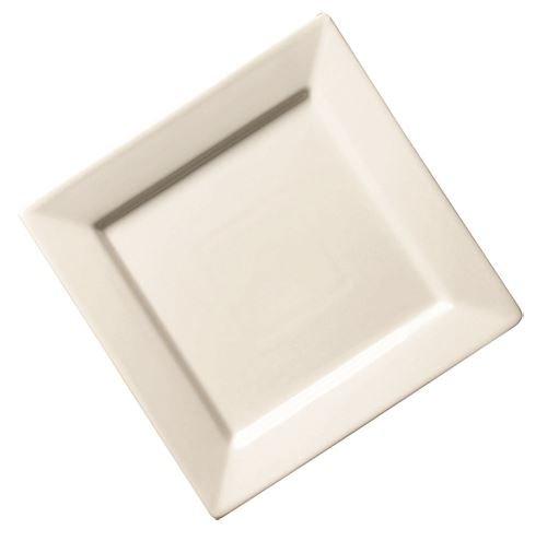 Genware nev-fc24sp rgfc Assiette carrée, 24 cm/23,5 cm (Lot de 6)