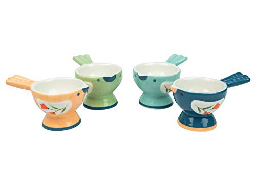 WD-Set of 4 Pcs Cute Bird Shape holder