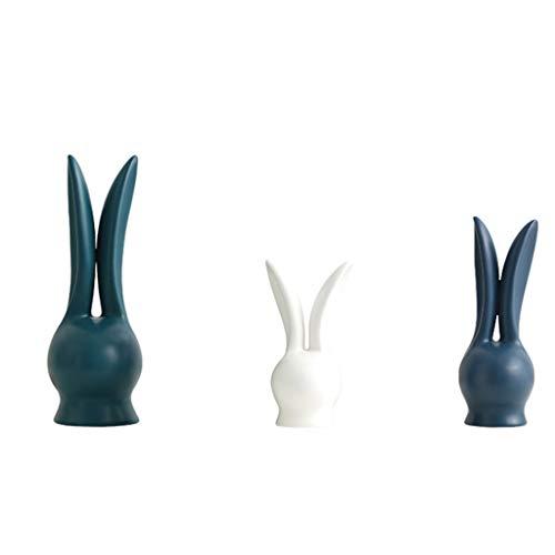 Mestieri Dekoration Nordisch modern, minimalistisch, abstrakt, Ornamente aus Keramik, für Wohnzimmer, Fernseher, Schreibtisch, weich, Möbel