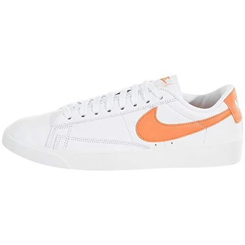 Nike Damen W Blazer Low Le Basketballschuhe, Mehrfarbig (White/Fuel Orange/White 103), 36.5 EU
