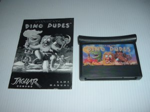 Evolution Dino Dudes Atari Jaguar 64 Bit