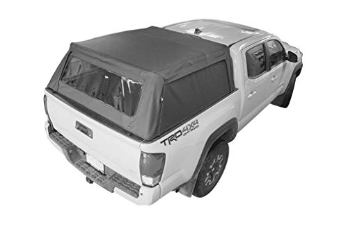 Bestop 7730135 Black Supertop for Truck 2, Toyota 2016-2019 Tacoma; For 6 ft. bed