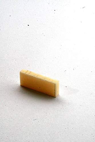 Musikalia 3401–Kapodaster starr für Baglama Griechisch oder ähnliche, 4Saiten doppelt (8), Zelluloid/galakerite Farbe Creme. Breite 26mm, Stärke 4mm, Höhe 10mm
