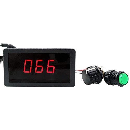ARCELI 6V 12V 24V Digital Display LED DC Regolatore di velocità PWM Interruttore di controllo della velocità a variazione continua HHO