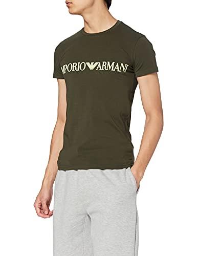 Emporio Armani Underwear T-Shirt Megalogo Camiseta para Hombre