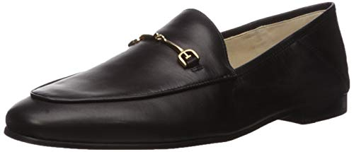Sam Edelman Women's Loraine Classic Loafer, Black Leather, 8