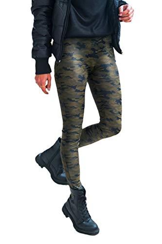 Adelina Lente Dames Camouflage Bloemen afdrukken Mode Casual Meisjes Geschenken Broek Casual Vakantie Klassieke Trendy Broek Trend Camouflage Sweatpants