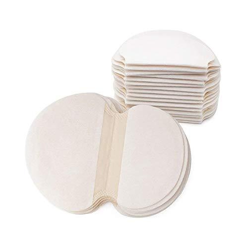 50 pièces sous les aisselles, autocollants jetables anti-transpiration pour les aisselles, robe tampons de transpiration de transpiration absorbant l'odeur anti-transpiration