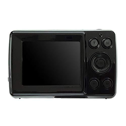 MOVKZACV Cámara digital, mini cámara de vídeo de 16 MP de 2,4 pulgadas, recargable, cámara de bolsillo compacta con zoom digital de 8 tiempos para niños, adultos, principiantes