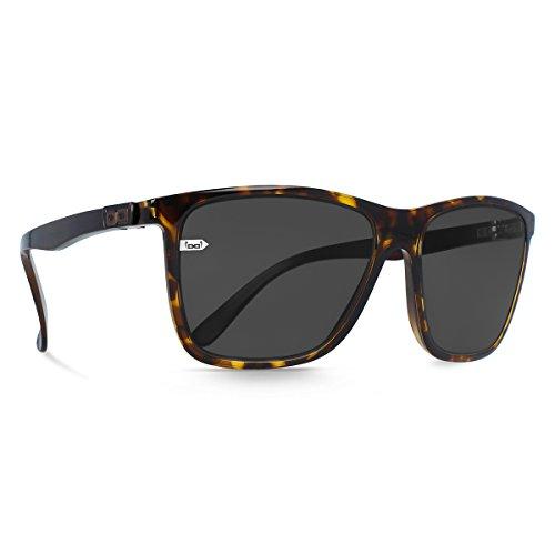 gloryfy unbreakable eyewear gloryfy Gi15 St. Pauli Kiezblende Sonnenbrille, Schwarz/Braun, L
