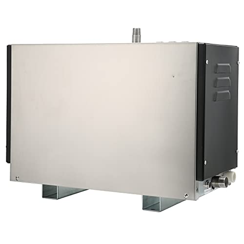 Duokon Generador de Vapor temporizado, 9KW Generador de Vapor Cuarto de Vapor Descalcificación automática Generador de Vapor Accesorio para Cuarto de Vapor