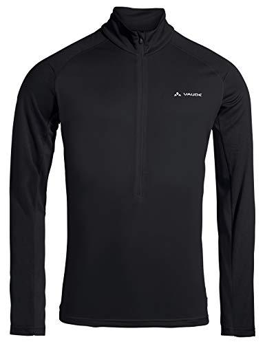 VAUDE Herren Men's Larice Light Shirt II Pullover, Black, XL