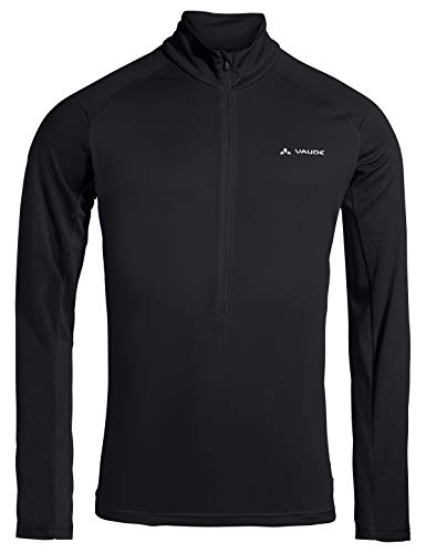 VAUDE Herren Men's Larice Light Shirt II Pullover, Black, L