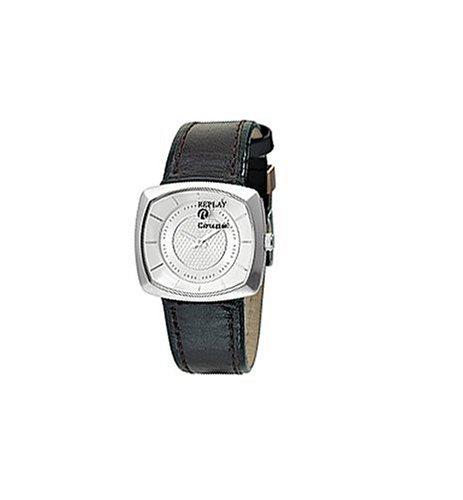 Replay RW5401BH - Reloj de Mujer de Cuarzo, Correa de Piel Color Negro