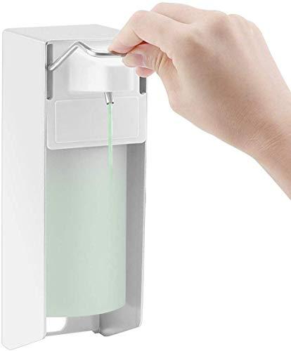 linyuyao Medizinischer Desinfektionsspender 500 ml Wand-Einkopf-Desinfektions-Badezimmer-Toilette für den Heimgebrauch