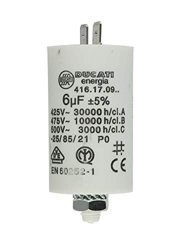 MKP Kondensator Motorkondensator Anlaufkondensator Betriebskondensator 6,0uF >400V