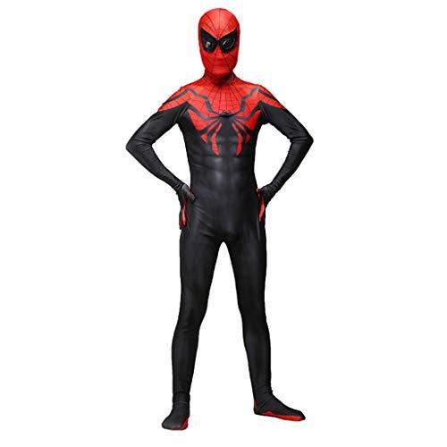 WOLJW SpiderMan Kostuum Lycra Spandex Ver Van Thuis Spiderman Homecoming Cosplay Body Pak Volwassene/Kinderen