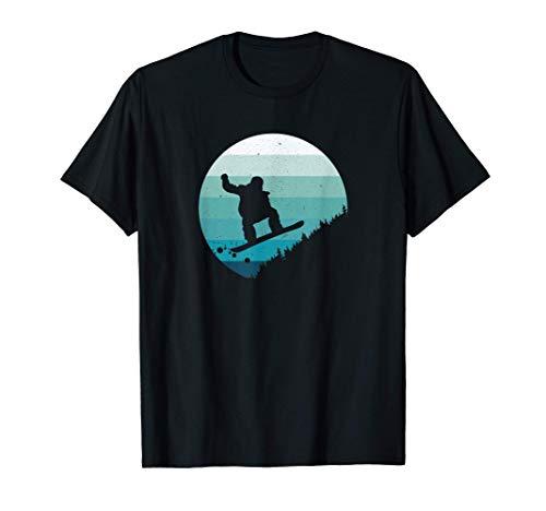 Snowboard Vintage - Snowboarder Schnee Wintersport Geschenk T-Shirt