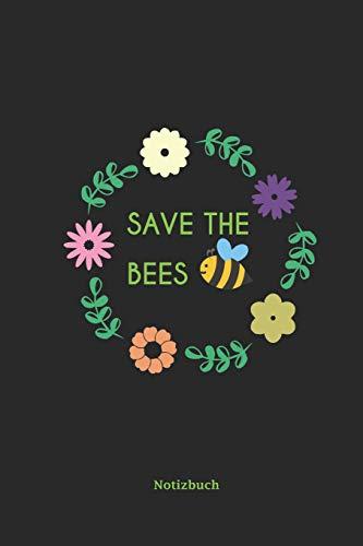 Notizbuch: a5 liniert | Blumen Gärtner Bienenschutz Insektensterben | Geschenk Für Naturschützer Imker Bienenfreunde | Zeichen Für Mehr Artenvielfalt