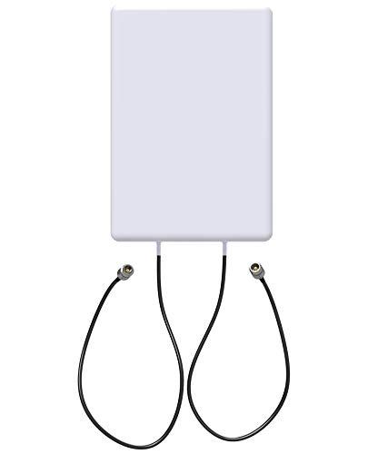 Halo-Son | Panel Richtantenne MIMO LTE/4G 5G | 700/800/900/1800/2100/2600/3400/3800Mhz | Leistungssteigerung 9-12dBi | Indoor und Outdoor | Passend für alle 4G & 5G Router [Model 2021 - CoFlex5200]
