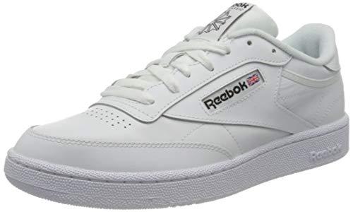 Reebok Herren DV9536 Sneaker, Blanco/Negro, 42 EU