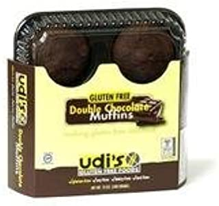 Udis Double Chocolate Muffin, 12 Ounce -- 6 per case.