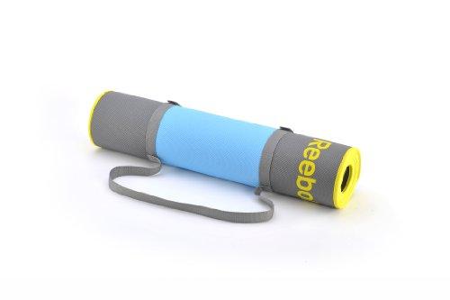 Reebok Yogamatte Premium Yoga Mat Colchoneta, Unisex, Cyan, One