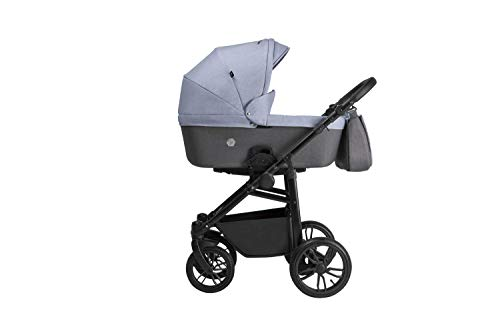 Tutek XPERO 3-teiliges Kinderwagen-Set Farbe Xp3 grau
