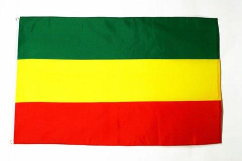 AZ FLAG Flagge ÄTHIOPIEN OHNE Wappen 150x90cm - ÄTHIOPIEN Fahne 90 x 150 cm - flaggen Top Qualität