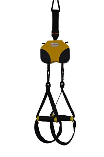 KAST YELLOW KoolooK Automatic Suspension Exercises , Las cintas para el entrenamiento en suspensión