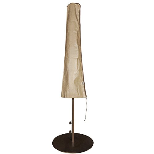 Abba Patio Outdoor Market Patio Umbrella Cover for 7-11 Ft Umbrella, Water Resistant, Brwon