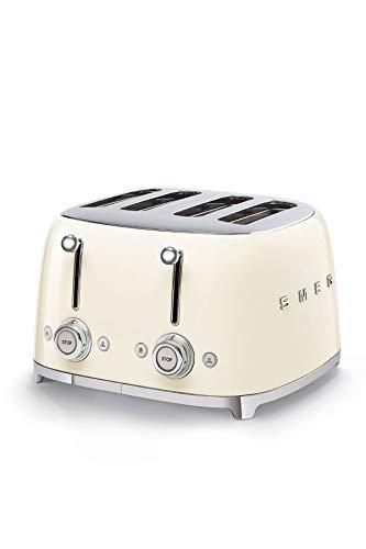 Smeg TSF03CREU Toaster, 2000, metall, Creme
