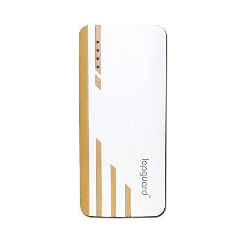 Lapguard Sailing-1530 13000mAH Lithium-ion Power Bank (White-Gold)