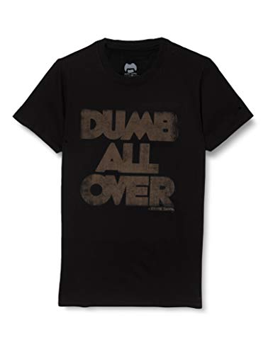 T-Shirt (Unisex XXX-Large) Dumb All Over Black
