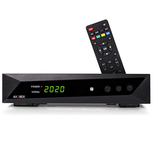 Opticum SBOX - Sat-Receiver HD - Media-Player 1080P Full-HD Digitalreceiver für Satellitenfernseher DVB-S/S2 - Astra & Hotbird vorinstalliert + Anadol HDMI Kabel