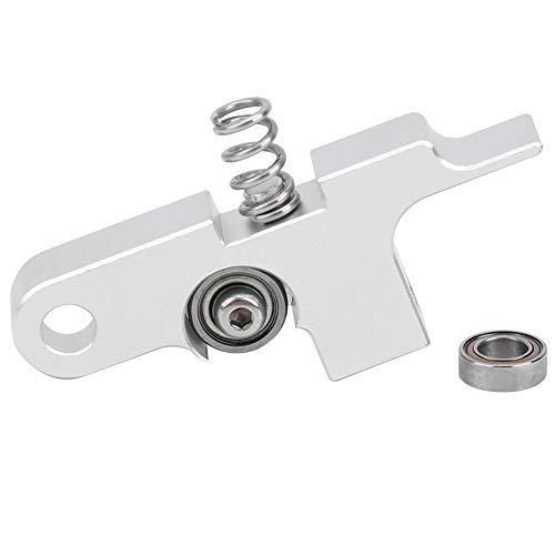 Aero Extruder Arm Exquisita aleación de titanio Piezas de repuesto para impresora 3D Palanca intermedia 1.75 mm Aleación de titanio Piezas de actualización de impresora 3D para Prusa i3 MK2