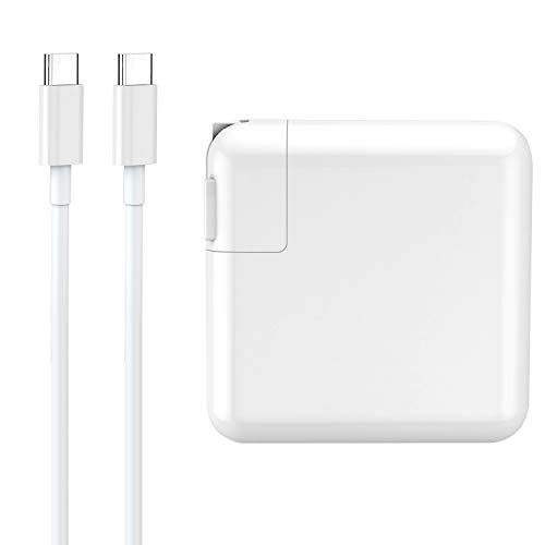 USB C Charger 61W PD 3.0 Wall Charger Power Delivery Type C Fast Charger Portable Charger for MacBook Pro Dell XPS iPad Pro iPhone 12 Pro Max Pixel 2 XL 3XL Galaxy S10 Nintendo Switch