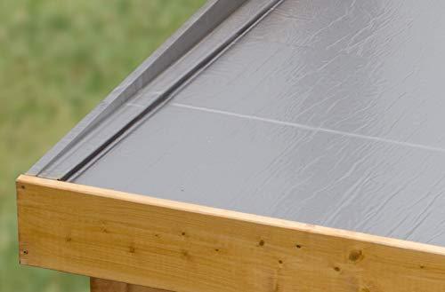 Unbekannt Karibu Folie Dachbahn, grau, Nicht zu treffend