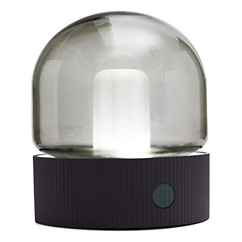 QXinjinxtd Lámparas para habitaciones Recargable retro luz de la noche del USB, sincronización lámpara de mesa, Ojo-cuidado lámparas de mesa, lámpara de mesa táctil, intensidad ajustable, luces de ate