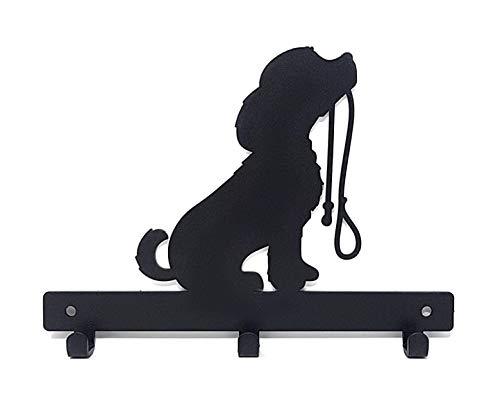 Correa para perro, llave, abrigo, puerta, toalla, percha, soporte, soporte, gancho, percha, gancho, perro con plomo*