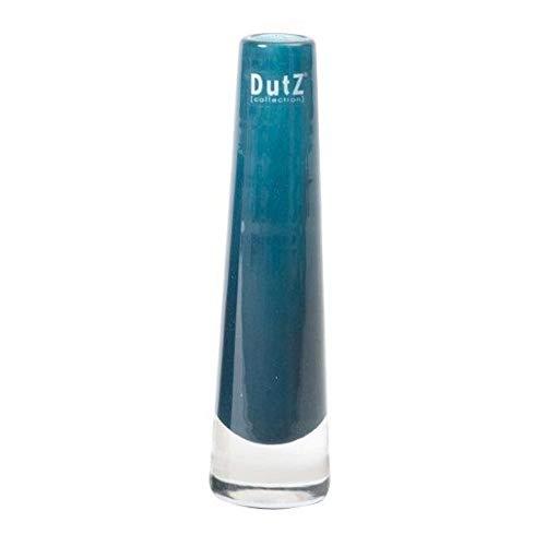 Dutz Vase Navy Dunkelblau 21 cm Glasvase Solifleur