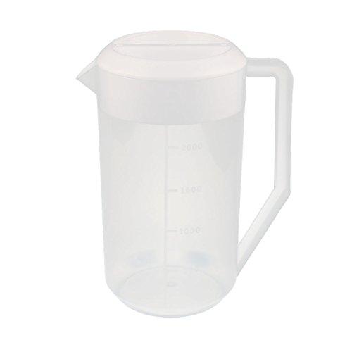 X-Dr Kitchen Lab 2500mL Plastikmessbecher Krug Ausgießer mit weißer Kappe (71ec25ac77288189ebc3fd2fb20097eb)