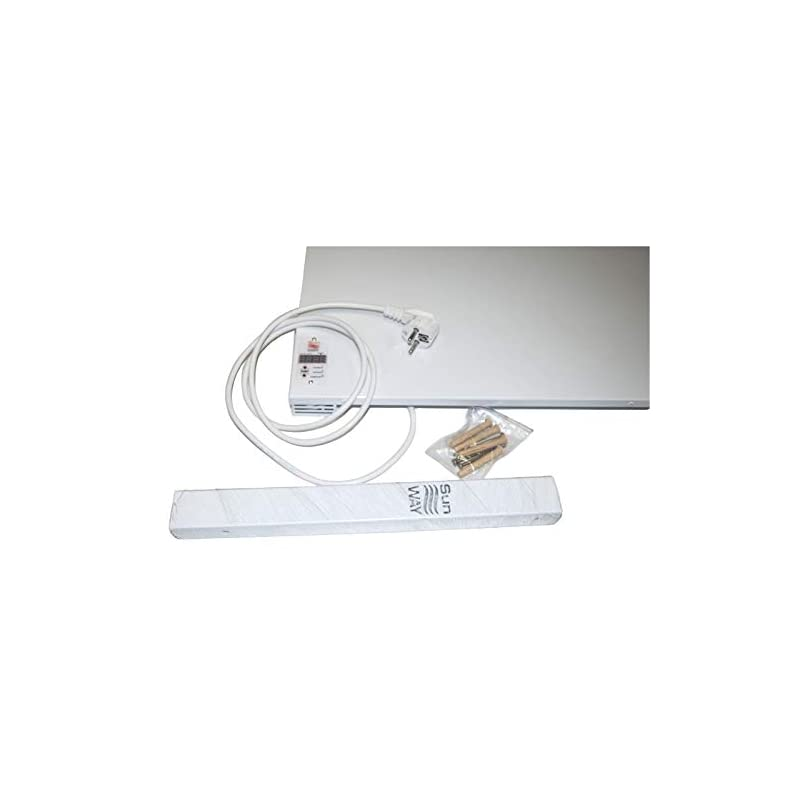 Infrared Wall Heating Panel SUNWAY SWRE 700 with Digital Thermostat