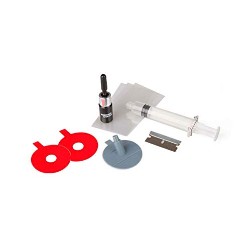 Hihey Auto Windschutzscheibe Repair Tools Kit Autoglas DIY Tools Reparatursatz Auto Glas Reparatur Set DIY Smart Repair für Risse Kratzer Chips