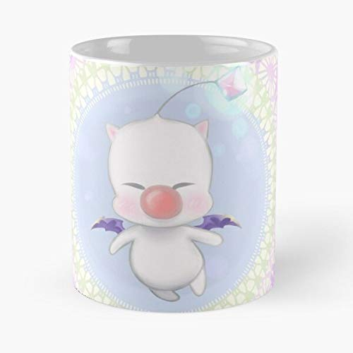 Moogle Kawaii Paint Tool Sai Japan Manga Anime Cute Video Game Best for Otaku and The Rest of The World 2020 Best Mug hält Hand 11oz aus weißer Marmorkeramik