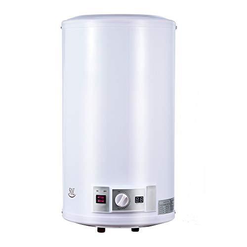 Calentador de Agua Eléctrico 50 L 220 V 2000 W Depósito Cilíndrico...