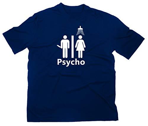 #2 Psycho Fan T-Shirt Fanshirt, XXL, navy
