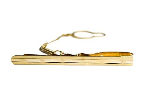 Generico Krawattennadel für Herren aus 18 K Gold 750, elegant und klassisch