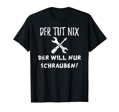 Mechaniker T-Shirt KFZ Mechatroniker Geschenk Werkstatt T-Shirt