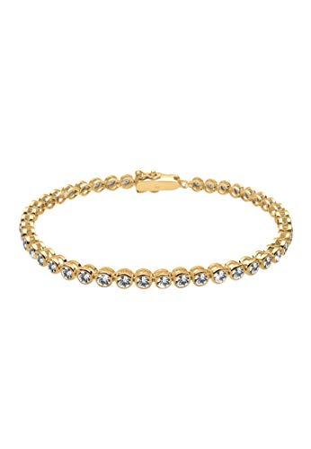 Elli Armband Elli Damen Armband Tennisarmband mit Kristallen in 925 Sterling Silber